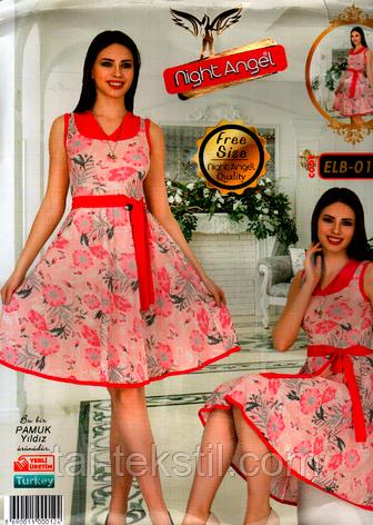 Молодежное платье свободного размера Турция (46-50р) Night Angel 012, фото 2