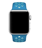 Ремешок Nike Sport Band Apple Watch  blue light blue 42/44 mm, фото 2