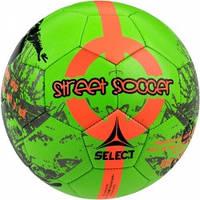 Мяч футбольный SELECT Street Soccer New (203) зел/оранж, размер 4,5 (оригинал)