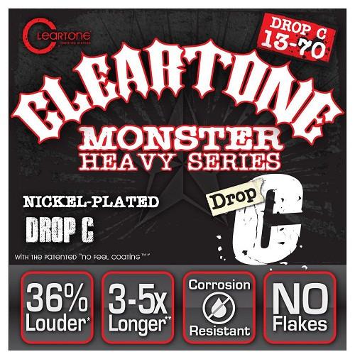 Струны для электрогитары CLEARTONE 9470 ELECTRIC HEAVY SERIES DROP C 13-70