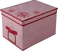 Короб для хранения с крышкой Хризантема