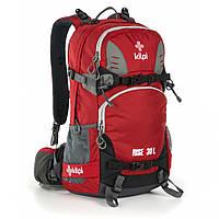 Рюкзак туристический 30-литровый Kilpi RISE-U для спорта и туризма. Цвет: красный, фото 1