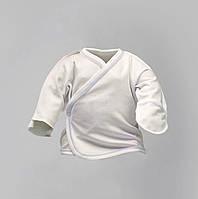 Распашонка для новорожденных под голубую нитку, цвет масло Интерлок|  Льоля Victory для хлопчиків