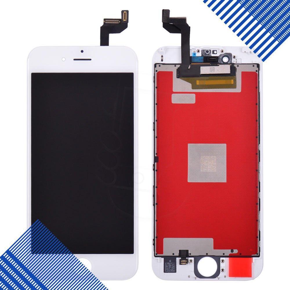 Дисплей iPhone 6S с тачскрином в сборе, цвет белый, оригинальная подсветка