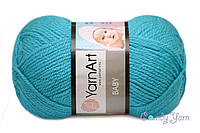 YarnArt Baby, бирюзовый №552