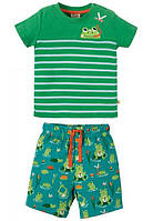 Пижама детская зеленая Frugi,  Mousehole Outfit, фото 1