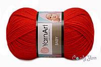 YarnArt Baby, красный №156