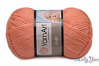 YarnArt Baby, оранж №622