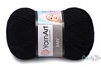 YarnArt Baby, черный №585
