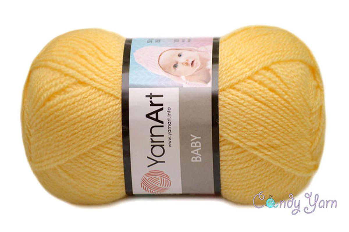 YarnArt Baby, Банан №315