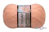 YarnArt Baby, персик №204