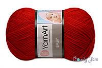 YarnArt Baby, темно-красный №576