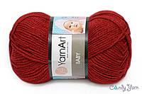 YarnArt Baby, бордо №3024
