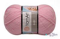 YarnArt Baby, Нежно розовый №217