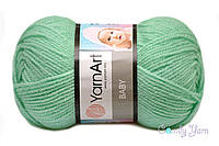 YarnArt Baby, мятный №623