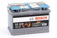 Аккумулятор 70 BOSCH AGM 6CT-70 ЕВРО (0092S5A080)