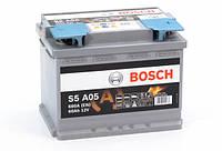 Аккумулятор 60 BOSCH AGM 6CT-60 ЕВРО (S5A050)