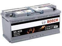 Аккумулятор 105 BOSCH AGM 6CT-105 ЕВРО (0092S5A150)
