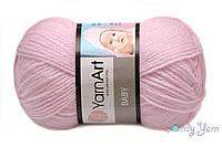 YarnArt Baby, фламинго №649