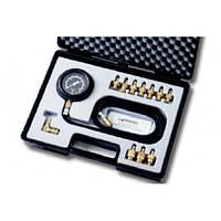 Тестер тиску в масляній системі з комплектом перехідників 10 шт.