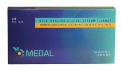 Пакети для стерилізації Мedal 200шт/уп 190*330 мм