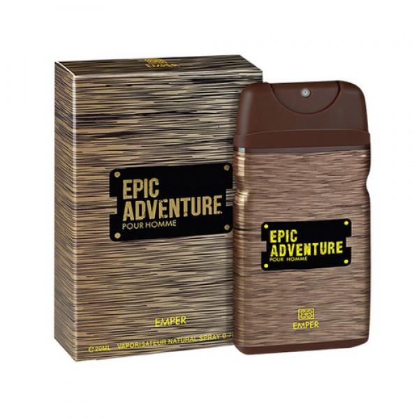 Мужская туалетная вода Epic Adventure 20 мл. Emper (100% ORIGINAL)