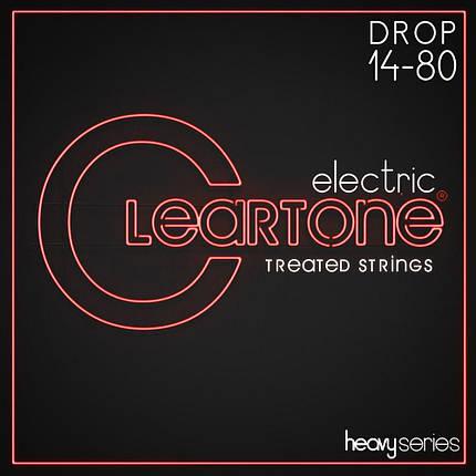 Струны для электрогитары CLEARTONE 9480 ELECTRIC HEAVY SERIES DROP A 14-80, фото 2