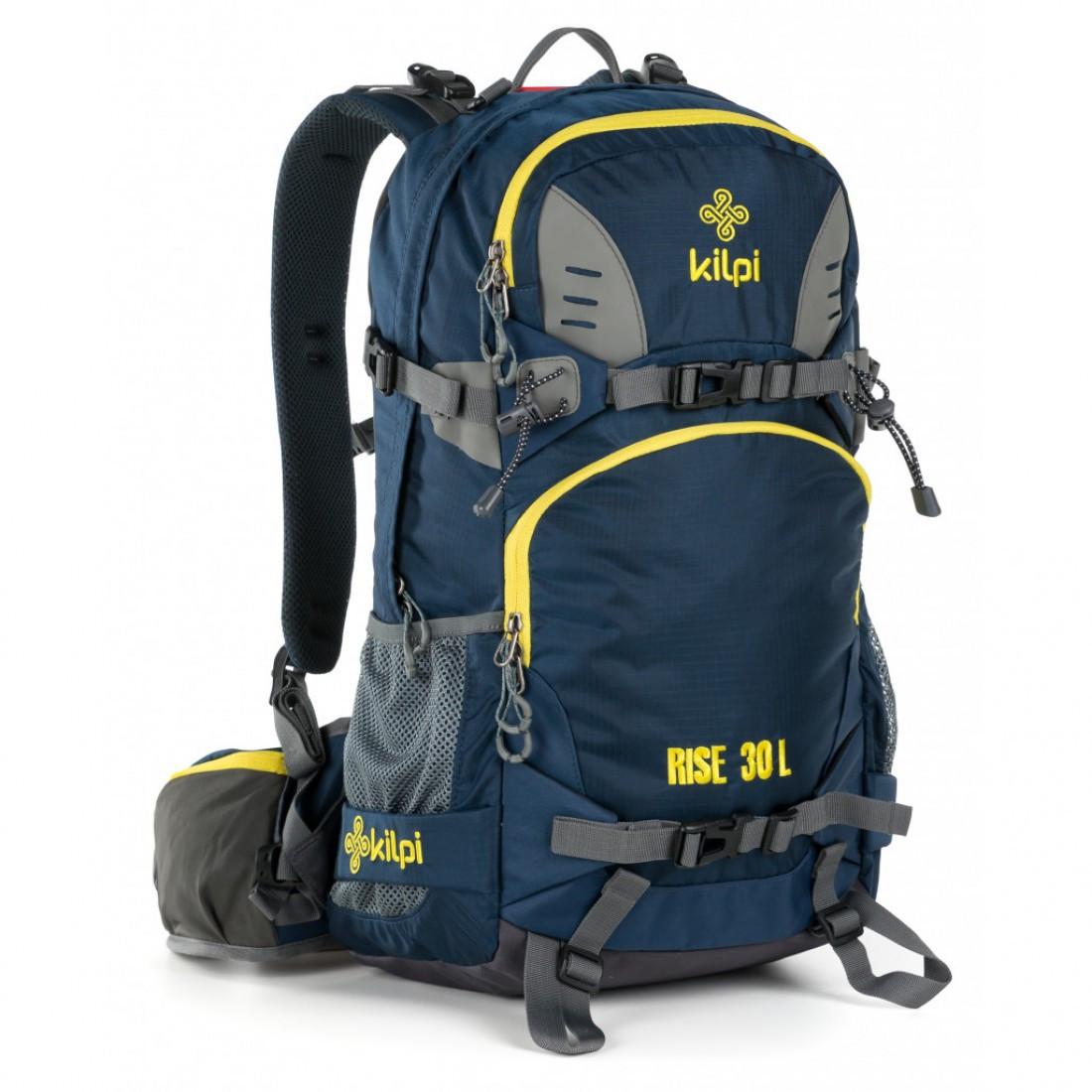 Рюкзак туристический 30-литровый Kilpi RISE-U для спорта и туризма. Цвет: синий