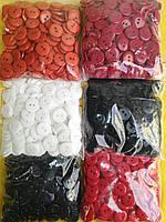 Пуговица PG443 пластик на 2 удара (разные цвета) №24/15мм