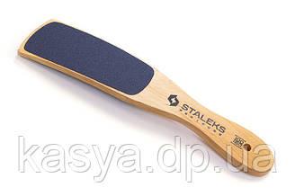 Терка для стоп з дерев'яною ручкою (100/180 грітті)