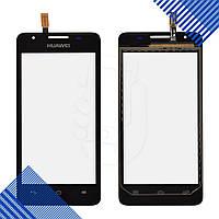 Тачскрин Huawei Ascend G510, G525, G520, цвет черный