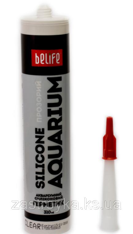 Герметик силиконовый для аквариумов BeLife 310мл прозрачный