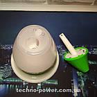 Увлажнитель воздуха 250 млультразвуковой Вулкан/Капля Зеленый. Увлажнитель воздуха для дома с подсветкой, фото 5