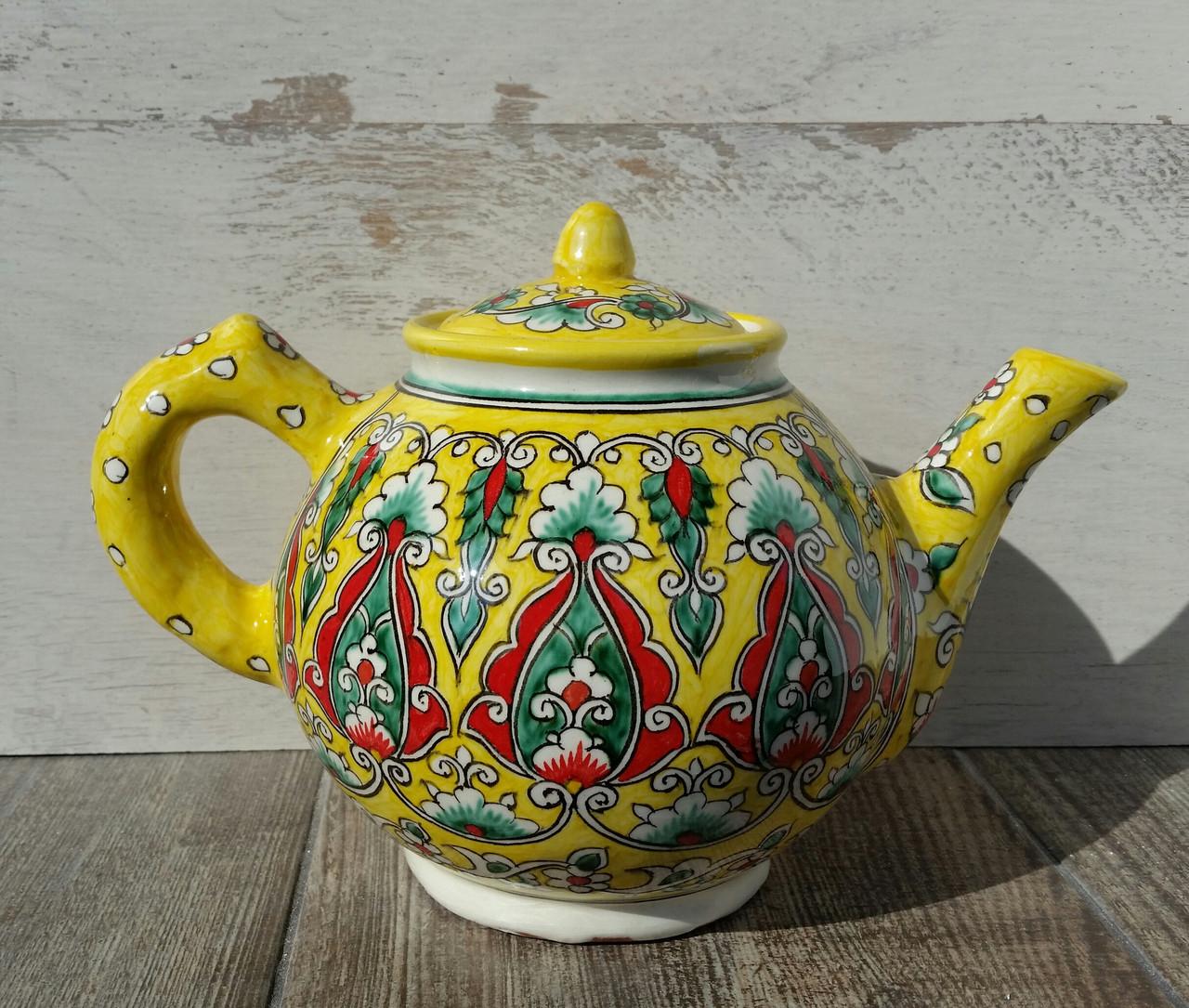 Чайник ручной работы. Риштан. Узбекистан