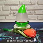Увлажнитель воздуха 250 млультразвуковой Вулкан/Капля Зеленый. Увлажнитель воздуха для дома с подсветкой, фото 8