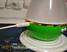 Увлажнитель воздуха 250 млультразвуковой Вулкан/Капля Зеленый. Увлажнитель воздуха для дома с подсветкой, фото 7