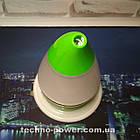 Увлажнитель воздуха 250 млультразвуковой Вулкан/Капля Зеленый. Увлажнитель воздуха для дома с подсветкой, фото 6