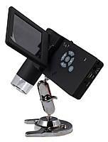 """Мобильный SIGETA USB-микроскоп, 3"""" TFT-дисплей, камера 5 Мпикс, 200Х (500X digital), 66501"""
