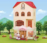 Трехэтажный дом, подарочный набор с фигуркой, Sylvanian Families