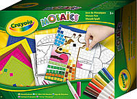 Забавная мозаика, набор для творчества, Crayola