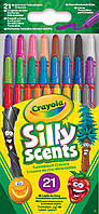 Выкручивающиеся ароматизированные восковые мелки (21 шт), Silly Scents, Crayola