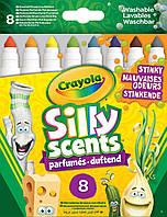 Ароматизированные смываемые фломастеры (8 шт), Silly Scents, Crayola