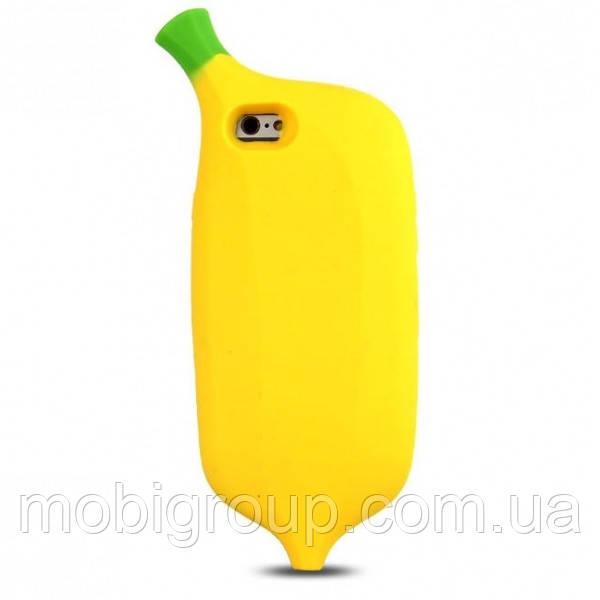 Силиконовый чехол Банан iPhone SE/5S/5