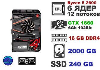 Компьютер ReBoost NANO COD ZEN 2600 GTX 1660