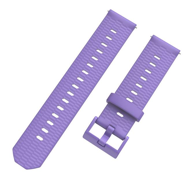 Ремешок MiJobs Honeycomb Pattern Youth для Xiaomi AMAZFIT Bip / 20 мм Purple (Фиолетовый)