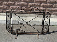 Кованная каминная решетка