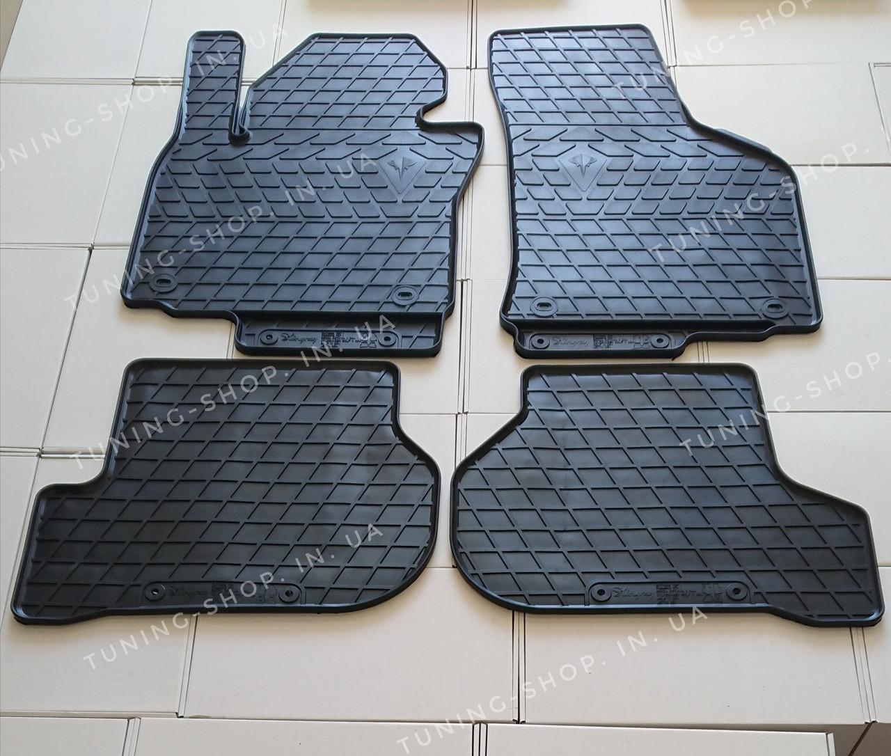 Резиновые коврики Skoda Octavia A5 2004-2013