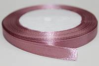 Лента атласная. Цвет - дымчато-розовый, ширина - 1см, длина - 23м