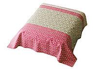 Покрывало Двухстороннее Loving It Crossy Pink Room 99 8763 220x240 см Белое, Бежевое, Черное, Коричневое, Серое, Зеленое, Желтое