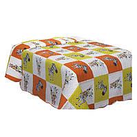Покрывало Двухстороннее Zoo Mix1 Eurofirany 0431 170x210 см Белое, Оранжевое, Желтое